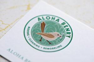 アロハ・ベンリー ロゴ